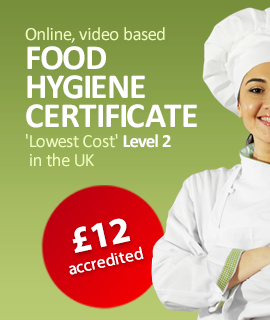 food hygiene level 2 course