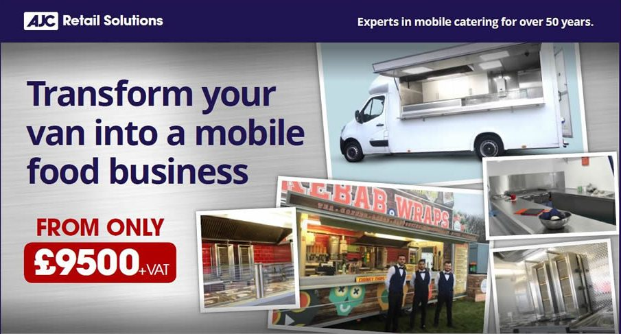 Transform your van into a mobile street food business