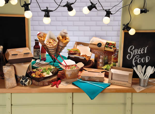 street food packaging products
